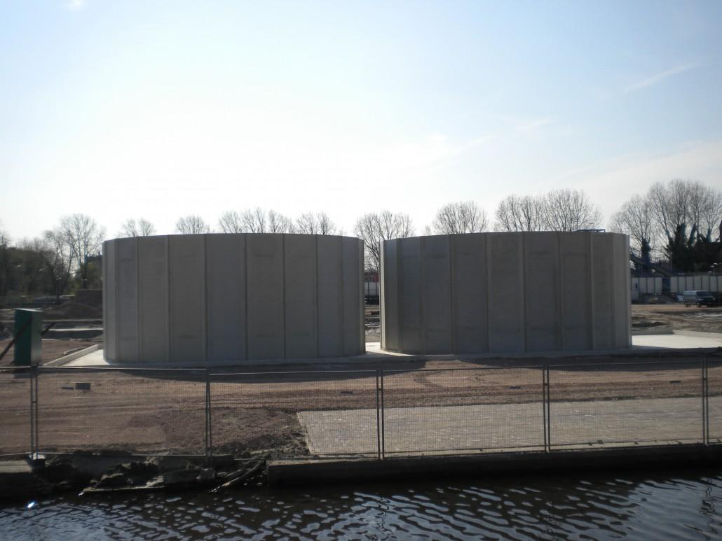 Betonsilo Delft
